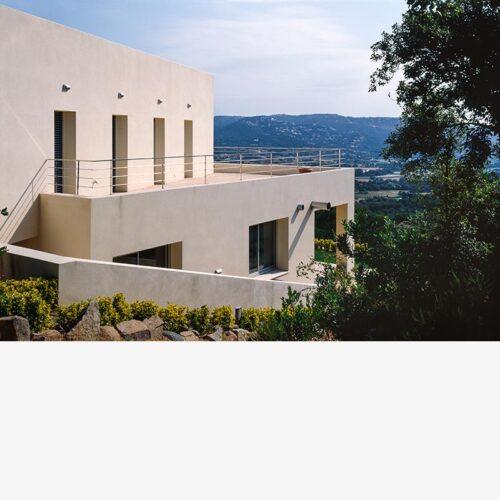 Urbanización Costa Brava, Girona, arquitectura Soler Farriol