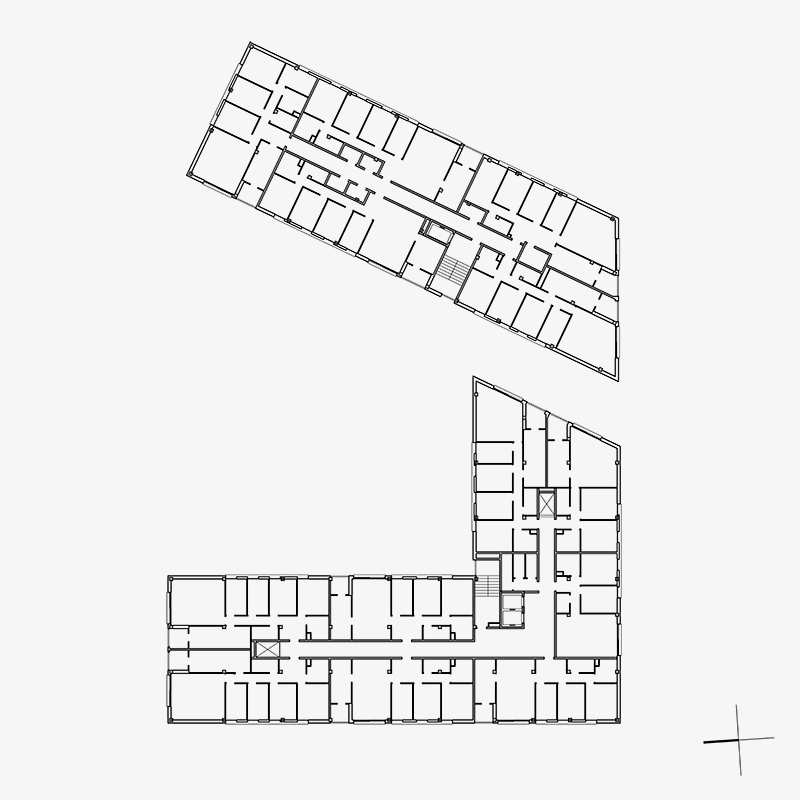 viviendas Masrampinyo por siliva farriol y anna soler arquitectas