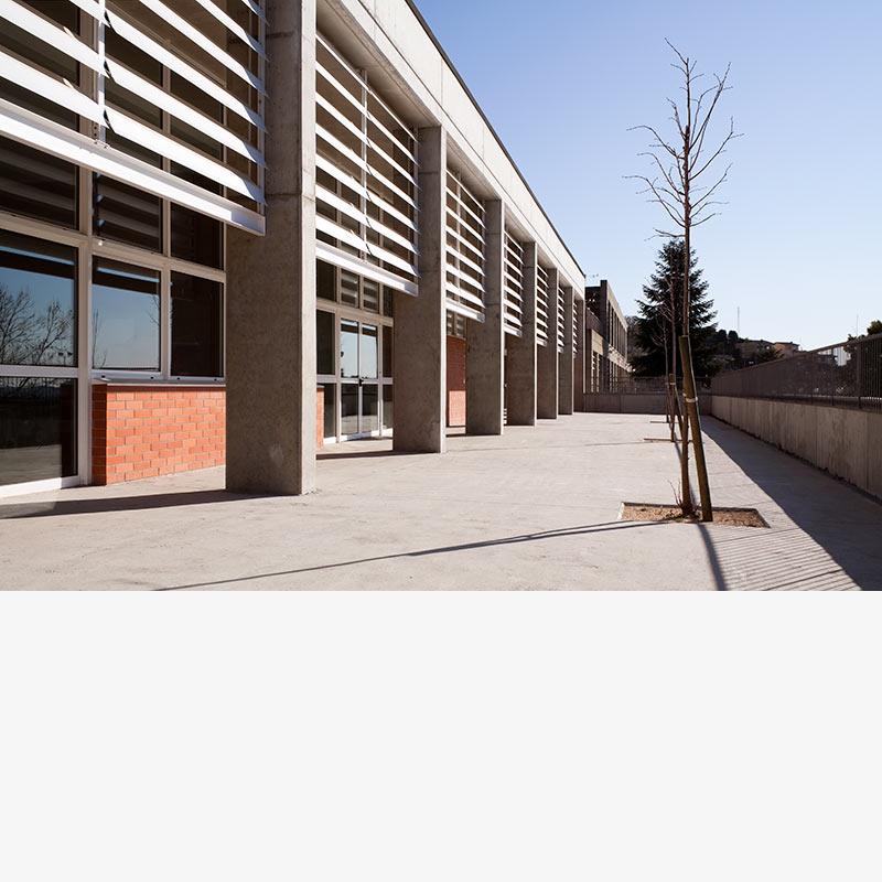 Rehabilitación CEIP Can Puig por las arquitectas Silvia Farriol y Anna Soler