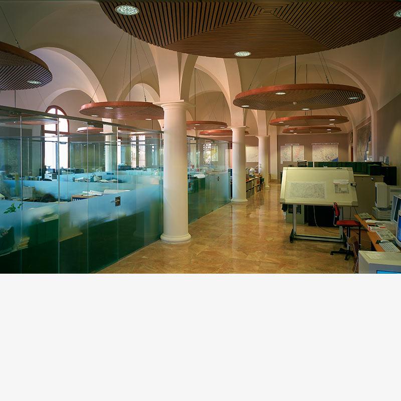 Rehabilitación Instituto Cartográfico de Cataluña por Silvia Farriol y Anna Soler