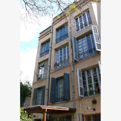 Rehabilitación integral de fachada calle Lleó XIII (Barcelona) por Silvia Farriol y Anna Soler