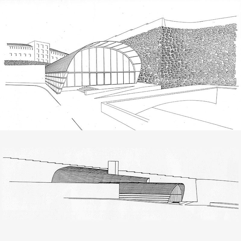 Ferrocarriles Peu Funicular, barcelona. Arquitectura Anna soler y Silvia Farriol