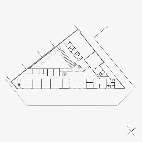 CENTRO DE ENSEÑANZA INFANTIL Y PRIMARIA POMPEU FABRA arquitectura barcelona
