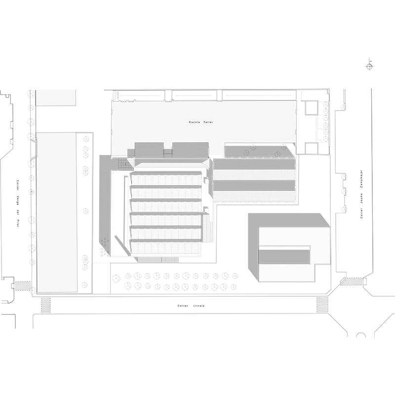 Centro cívico y escuela música Cardedeu