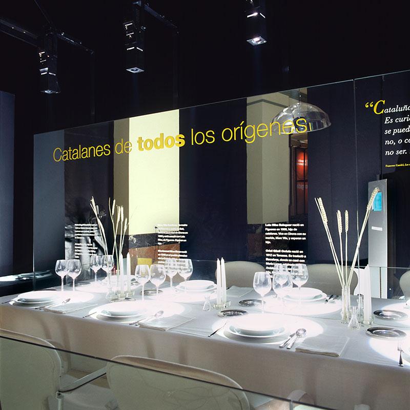 CATALUÑA, TIERRA DE ACOGIDA . DIVERSAS SEDES EN 7 CIUDADES ESPAÑOLAS 2002