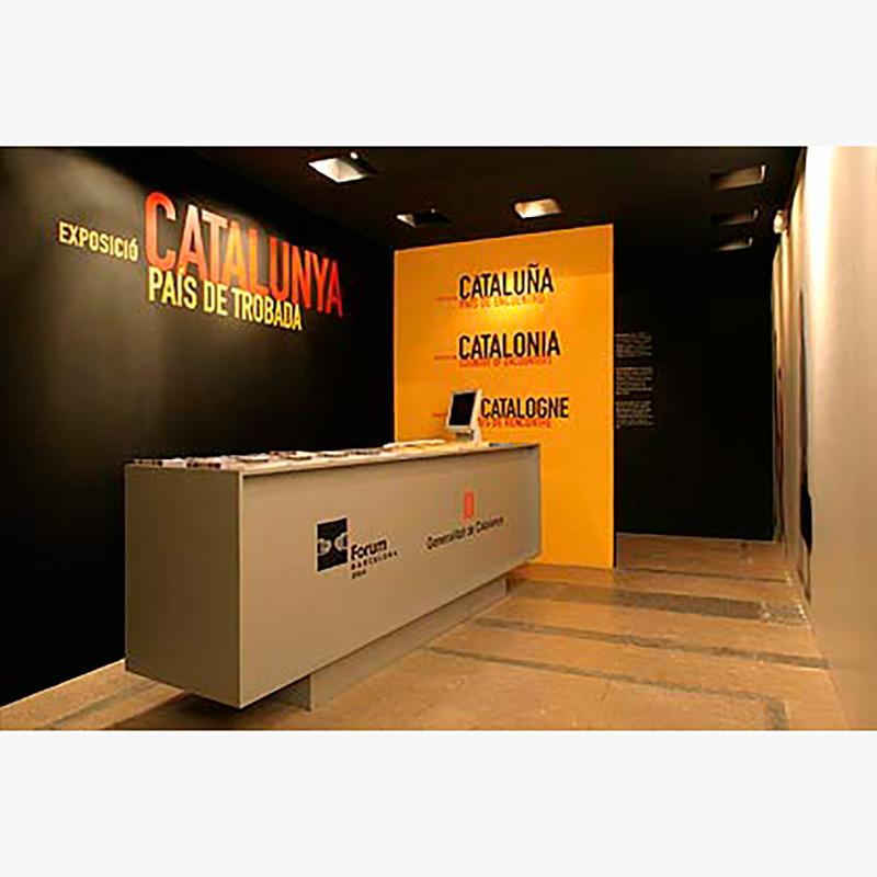 CATALUNYA, PAÍS DE TROBADA. PALAU MOJA. BARCELONA 2004