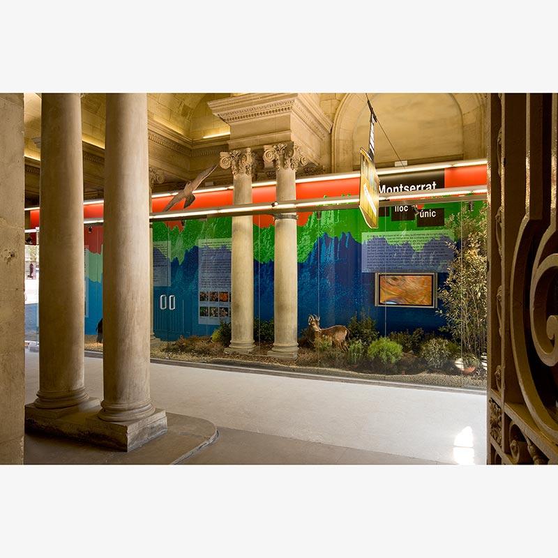MONTSERRAT, UN LLOC ÚNIC. PALAU ROBERT. BARCELONA 2007