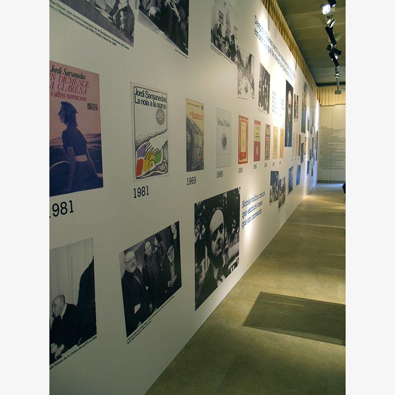 JORDI SARSANEDAS (1924-2006). ACCIÓ I CREACIÓ. COTXERES PALAU ROBERT. BARCELONA 2008