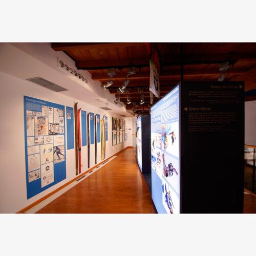MUSEO DEL ESQUÍ PAQUITO FERNÁNDEZ OCHOA. CERCEDILLA 2012